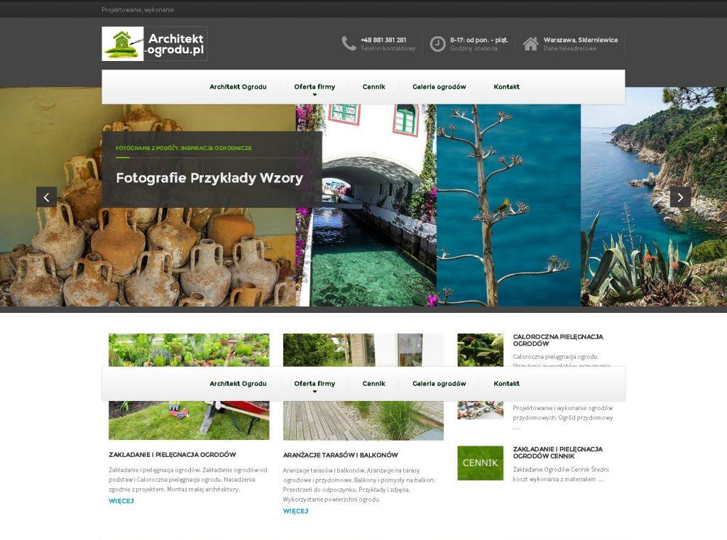 strona www przykład firma