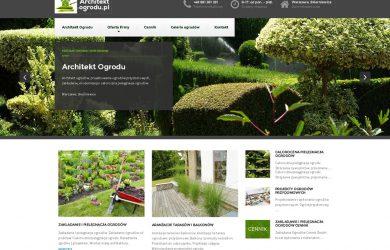 architektura krajobrazu strona www warszawa
